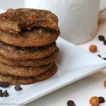 Brilliance on the Fly: Caramel Mocha Chip Cookies