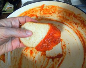 Fire Roasted Tomato Sauce | ComfortablyDomestic.com