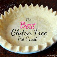 Best Gluten Free Pie Crust