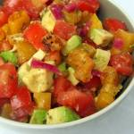 Detoxing and Grilling to Bring About Change: Grilled Pineapple and Avocado Salsa