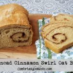 No Knead Cinnamon Swirl Oat Bread and the Power of an Aroma