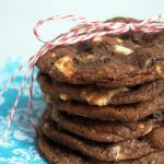 Dark Chocolate Cranberry Cookies with White Chocolate Chunks: a Son #2 Recipe