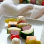 Antipasto Salad Skewers