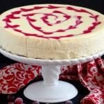 Cranberry Swirl Cheesecake & a BIG Giveaway!