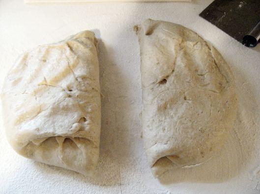 dough divided