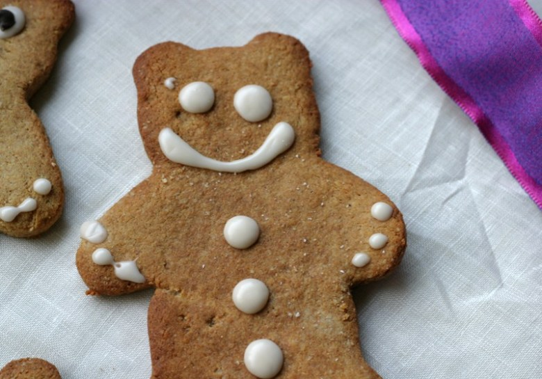 Paleo Gingerbread Bears