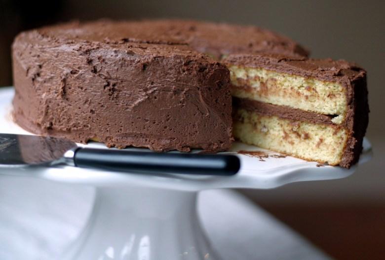 Paleo Caterpillar Cake