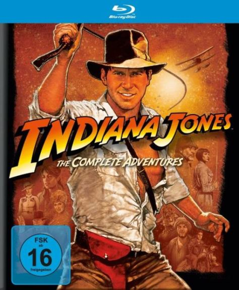 INDIANA JONES - THE COMPLETE ADVENTURES