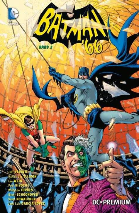 DC PREMIUM 91 BATMAN 66 Band 3 SOFTCOVER