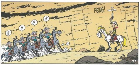 Achdé: Lucky Luke # 90 - Auf eigene Faust