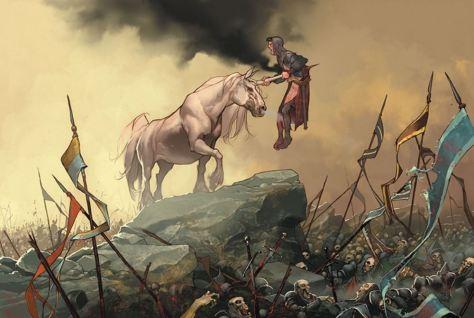 Der Ritter und das Einhorn