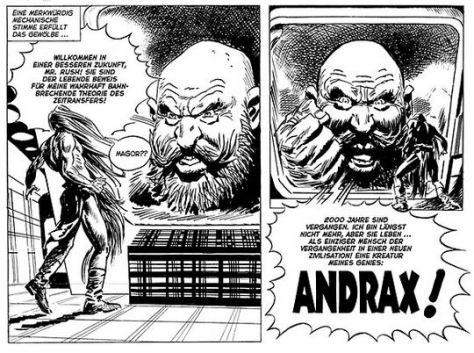 Jordi Bernet & Peter Wiechmann: Andrax