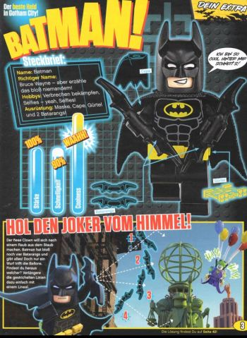The Lego BATMAN Movie Magazin