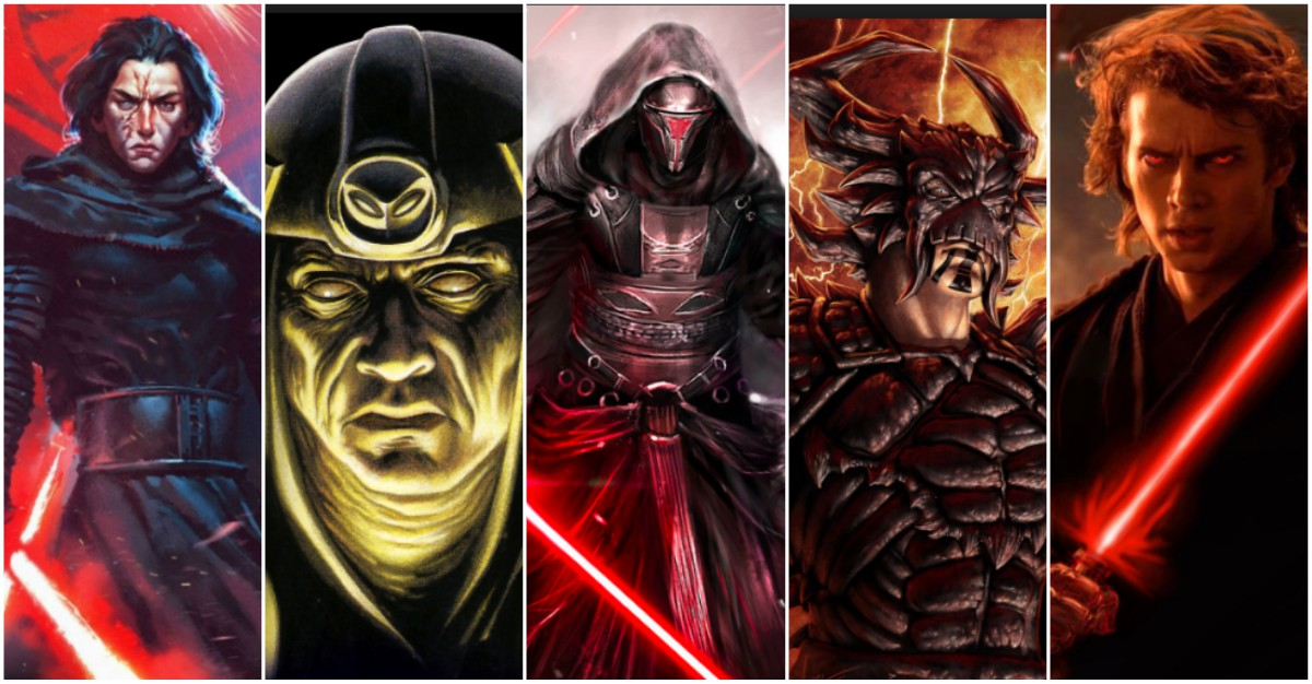Top 10 Most Powerful Jedi Who Fell In To The Darkside!