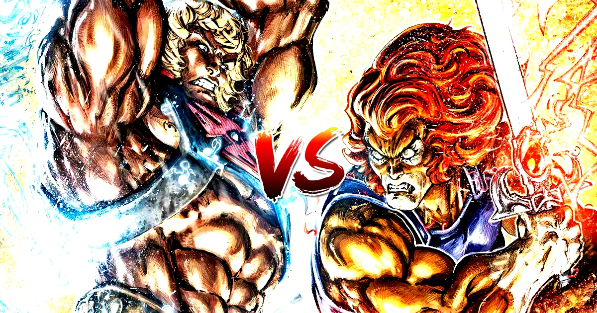 He-Man Vs. Thunder Cats: The Fight Of Your Dreams Is Here