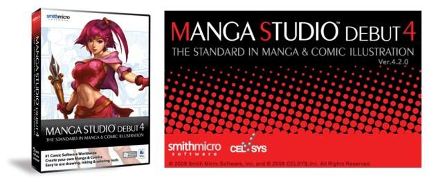 manga studio logo