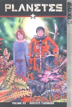 Planetes Volume 3 cover