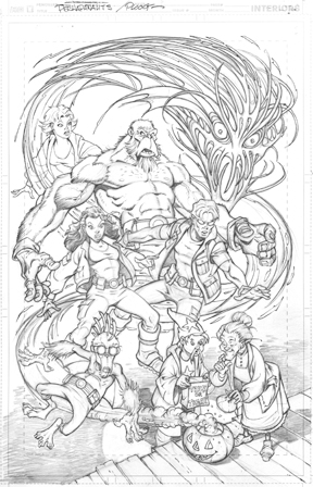 Upcoming Perhapanauts cover by Mike Ploog