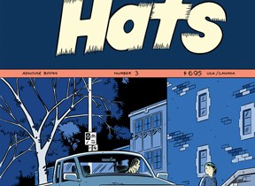 Pope Hats #3 cover