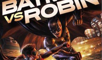 Batman vs. Robin cover