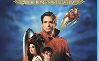 The Rocketeer Blu-ray cover