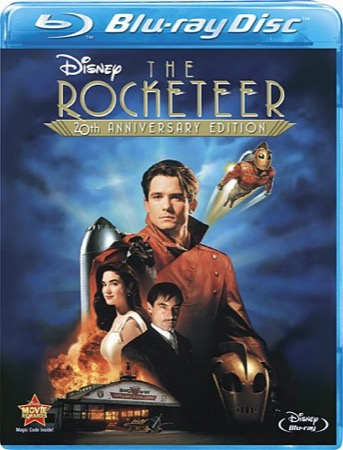 The Rocketeer 20th Anniversary Edition Blu-ray cover