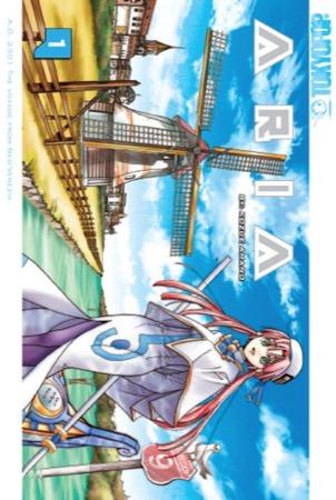 Aria volume 1 cover