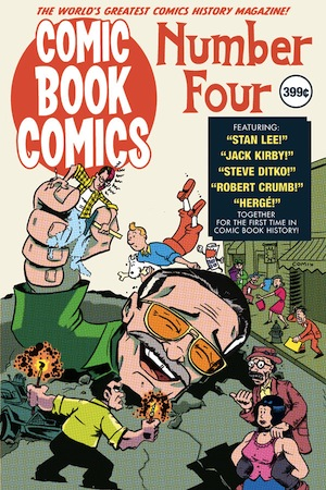 Comic Book Comics #4 cover