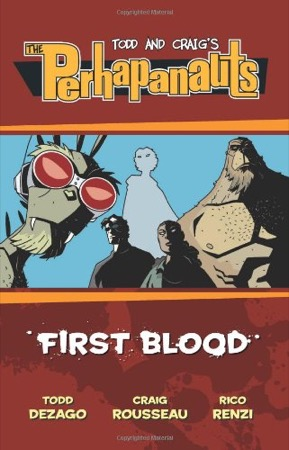 The Perhapanauts: First Blood cover
