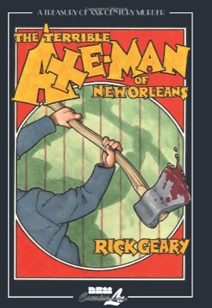 The Terrible Axe-Man of New Orleans cover