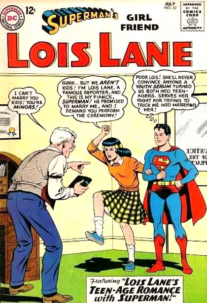 Sample Lois Lane frustration cover