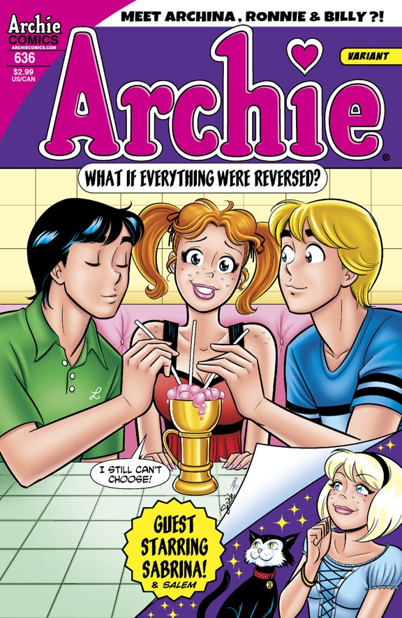Archie #636 variant cover