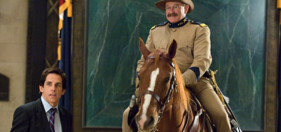 Robin Williams as Teddy Roosevelt