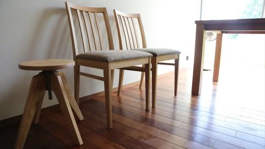 TRUCK FURNITURE –OAK SR TABLE, QUATTRO CHAIR, KT STOOL-