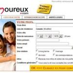 Test du site Amoureux.com