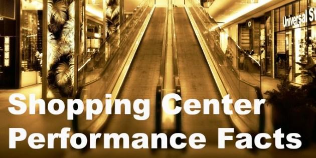 shopping center performance