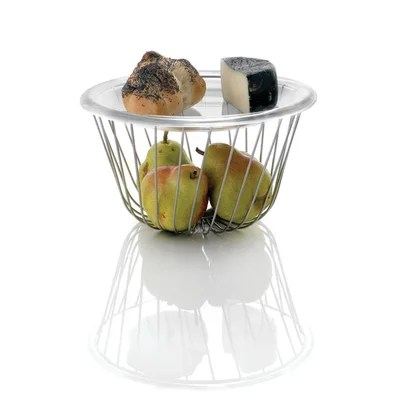 Buy low price alessi alessi a tempo wire fruit basket by pauline deltour set of 4 aas2866 - Alessi fruit basket ...