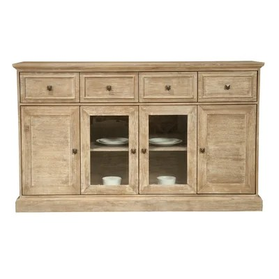 Image of Orient Express Furniture Hudson Traditions Sideboard in Distressed Stone Wash (RXU1002)