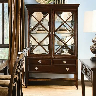 Image of Southern Living Urban Heights Cabinet In Chocolate Cherry (SRV1155)