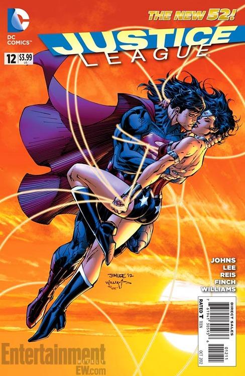 Wonder Woman and Superman Hook Up