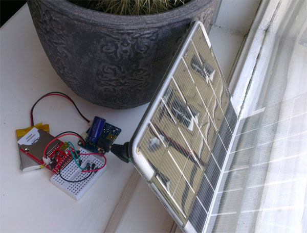 Electric Imp Temperature  Logger with ThingSpeak