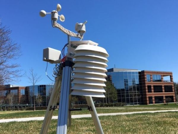 MathWorks Weather Station