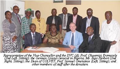 COLVET Gets Donation From German Foundation