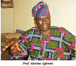 Professor Adesina Agboola