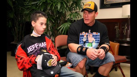 Make A Wish Foundation honors John Cena   WWE Community The Make A Wish Foundation of America announced John Cena as one of five  recipients of its 20th annual Chris Greicius Celebrity Awards