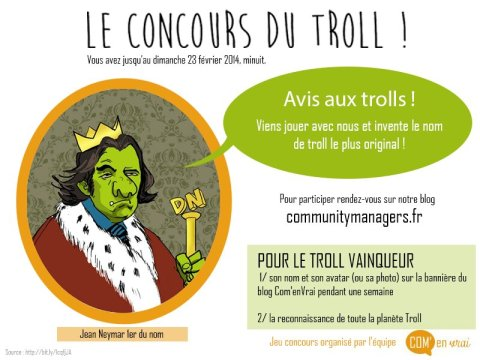 Jeu concours ComenVrai Troll