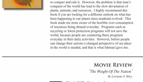 book pick & movie review