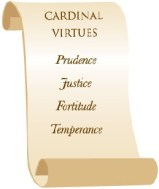 Cardinal Virtues - Scroll