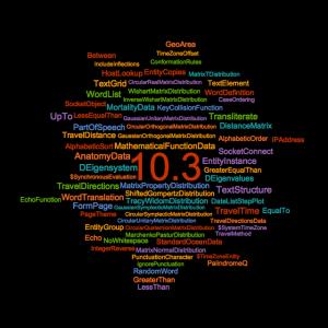 Mathematica 10.3 Word Cloud