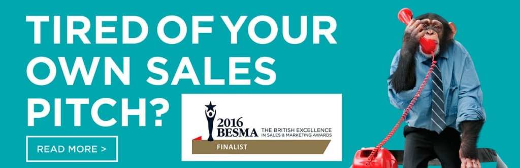Tired Of Your Own Sales Pitch? - Company Shortcuts - BESMA Awards Finalist